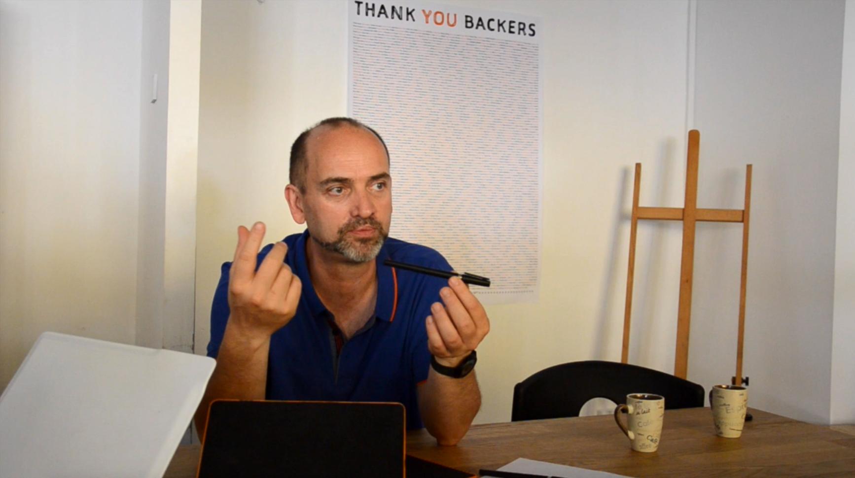 Entretien avec Christophe Chedal Anglay, designer de la Slate – Première partie