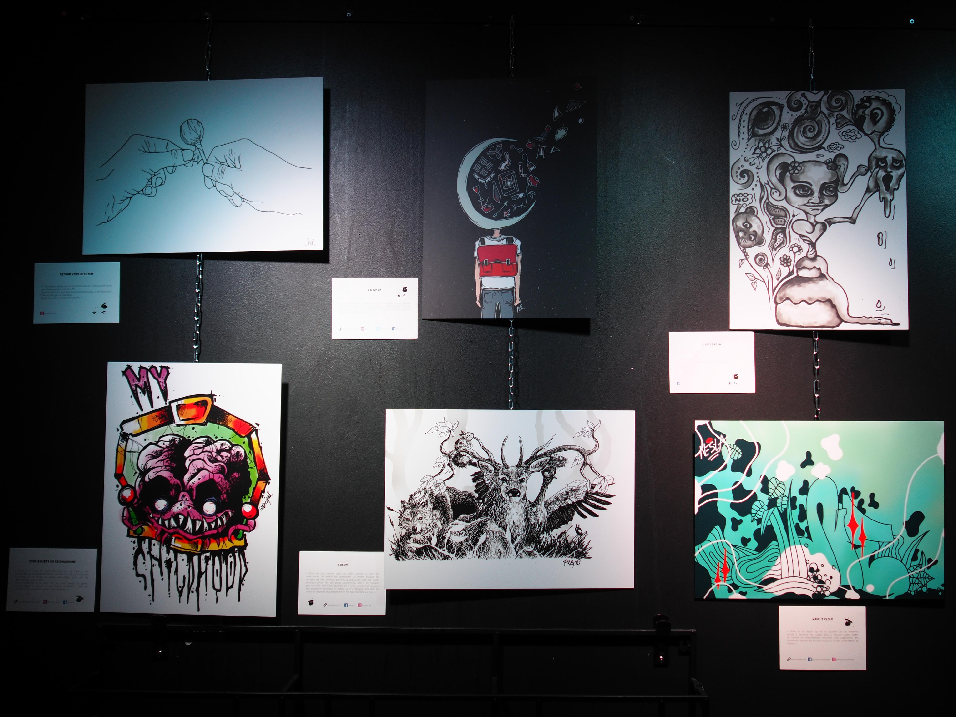 When Grenoble-based artists reveal their inner child…