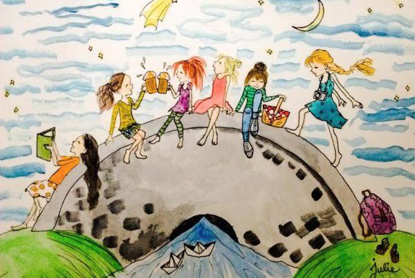 Julie Wells: Children's illustration